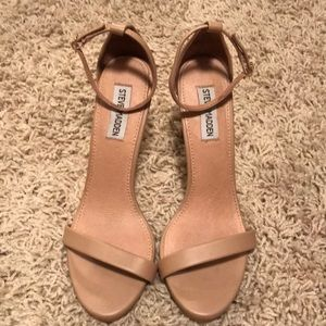 Steve Madden Nude Strapped Heels Size 8.5